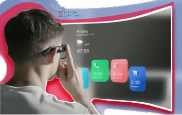 Developers have created futuristic computer glasses