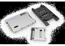 Разъемы карт SIM, SD, MICROSD