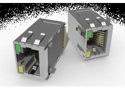 Ethernet RJ-45 с трансформатором